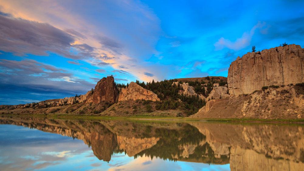 Sunrise at Eagle Creek