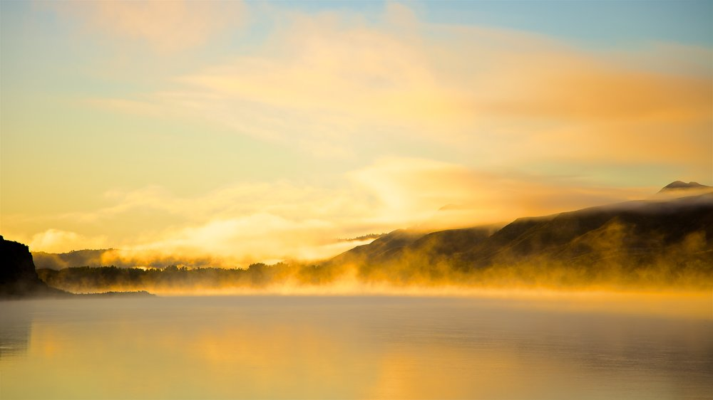 Golden Sunrise at Slaughter River