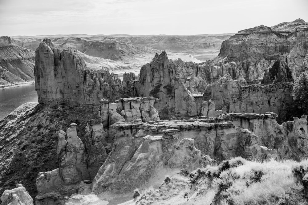 Cathedral Rocks at Hole-in-the-Wall