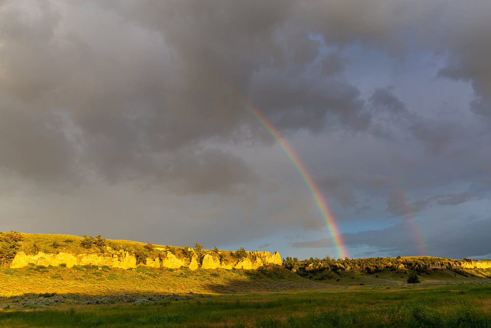 Double Rainbow at Eagle Creek