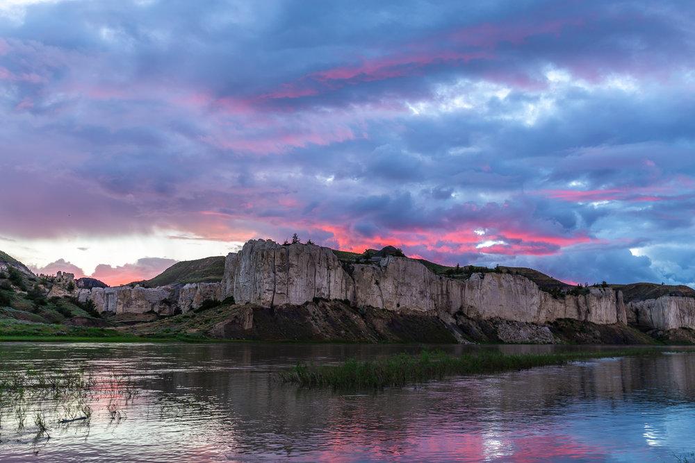 Sunset at Eagle Creek
