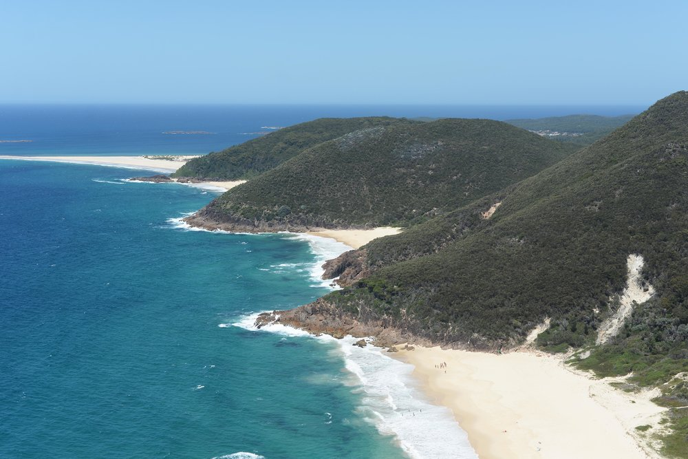 tomaree head summit walk port stephens nsw