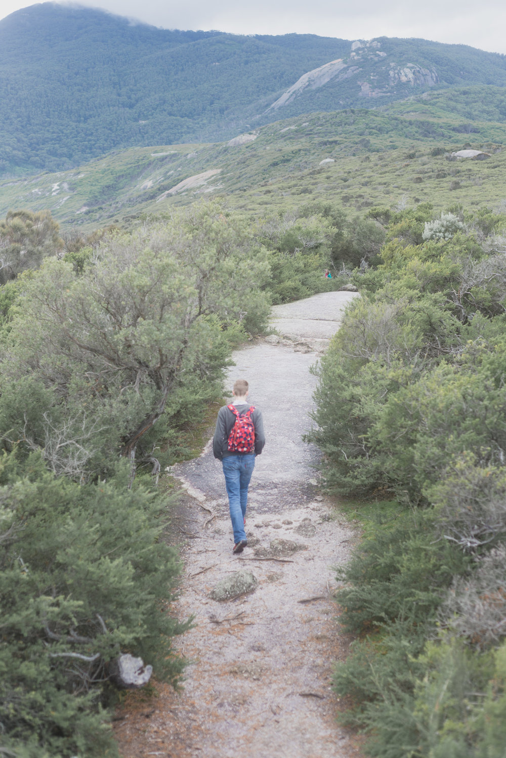 hiking in wilsons prom national park