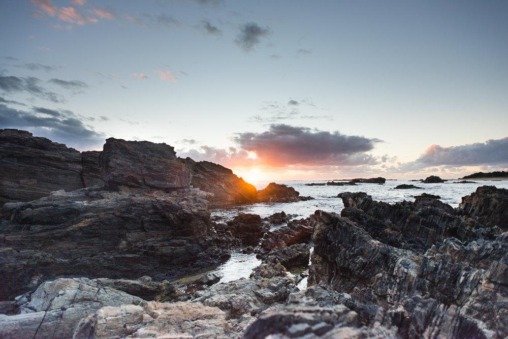 sunrise at mystery bay nsw