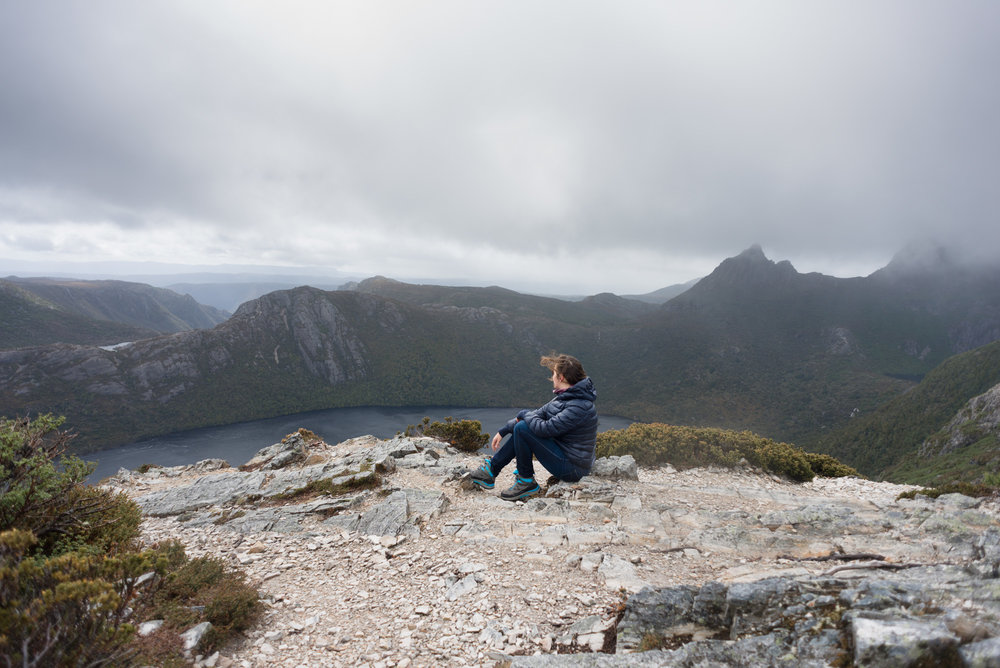 marion's lookout cradle mountain national park