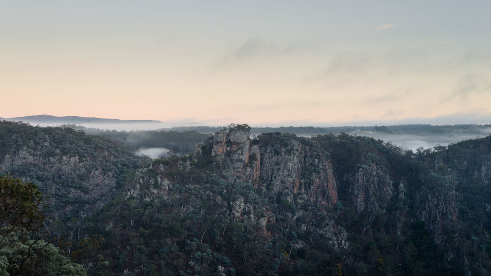 Morning Mist Bungonia NSW