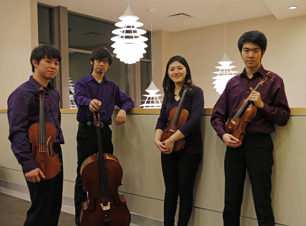 Cong Quartet 2015-2017