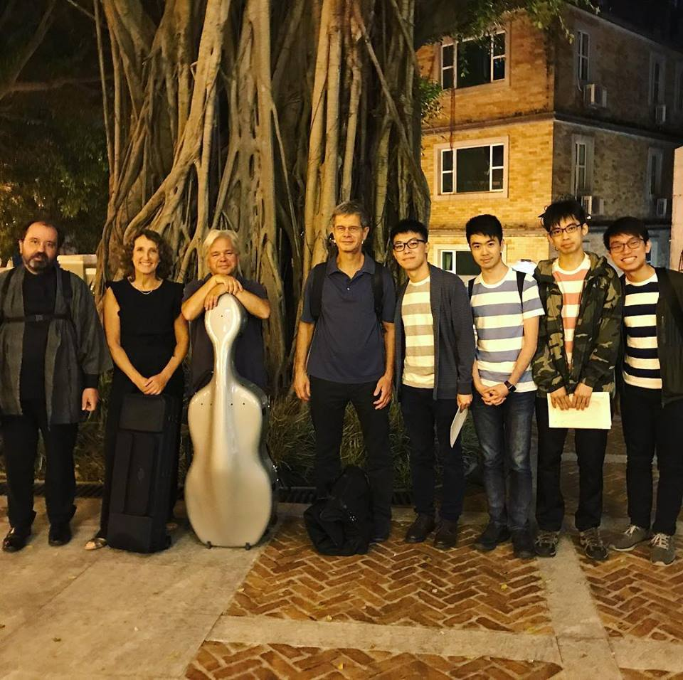 With the Hagen Quartet at Macau