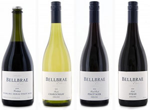 Bellbrae winery, on the great ocean road towards Anglesea
