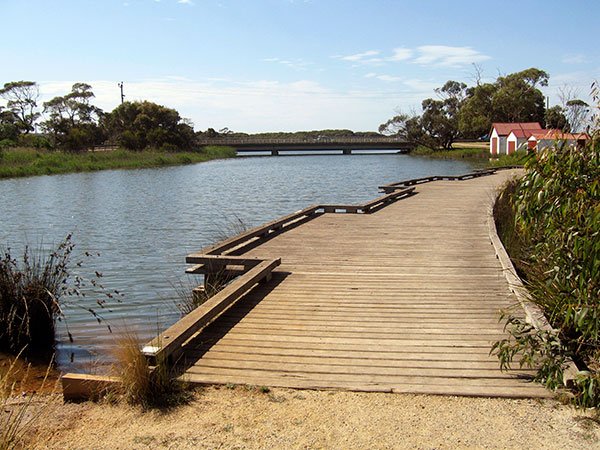 Boardwalk at anglesea