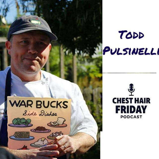"""Side Dishes"" is here. Check out our #chesthairfriday podcast with @tpulsinelli, chef at @restaurantaugustneworleans and the rapper known as ""Warbucks."" On the site and on iTunes, link in profile 👆"