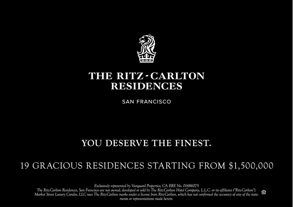 The Ritz-Carlton Residences by San Francisco Real Estate Agent / Realtor