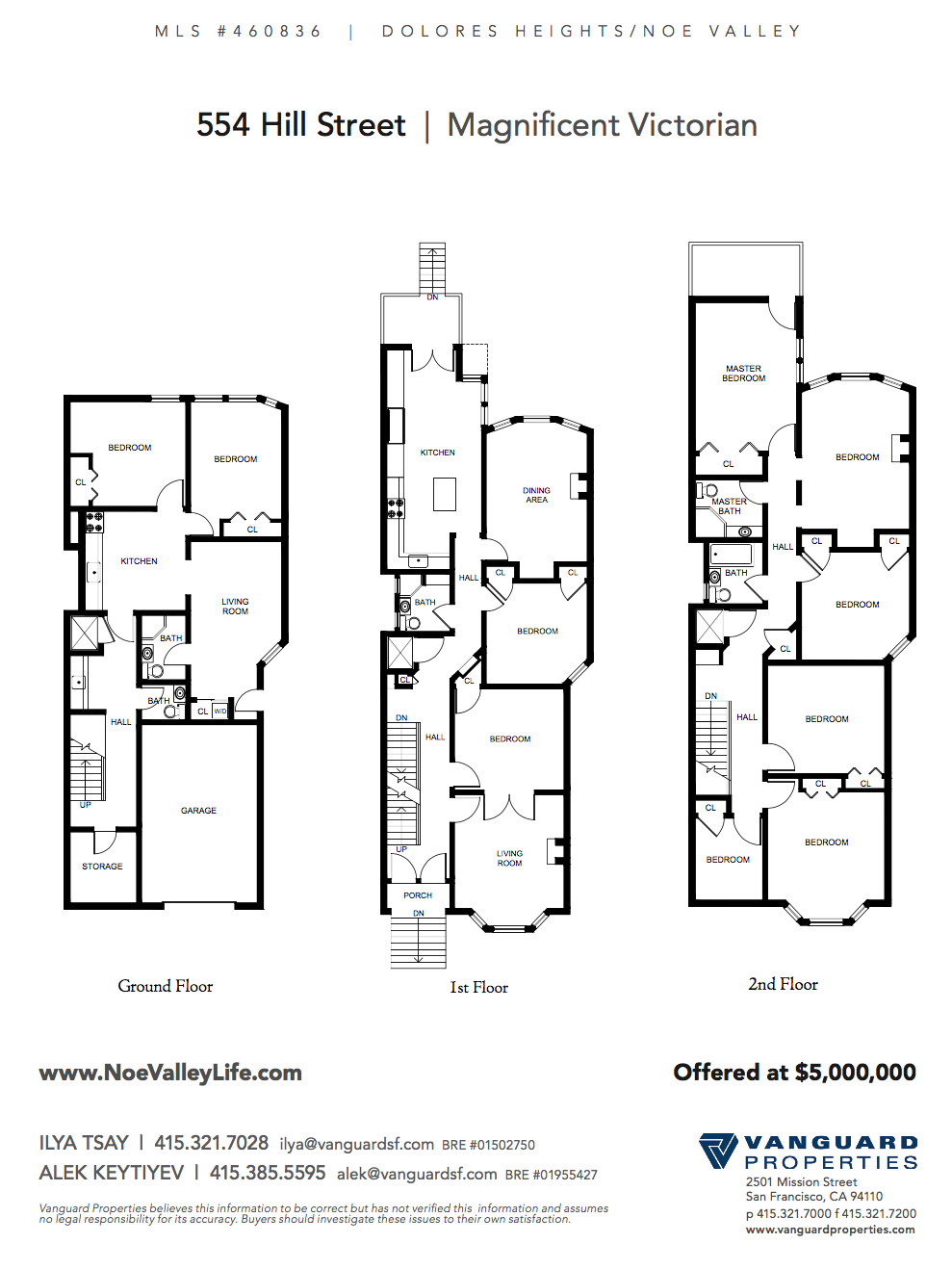 Floor Plan Combined by VG 554 Hill Street