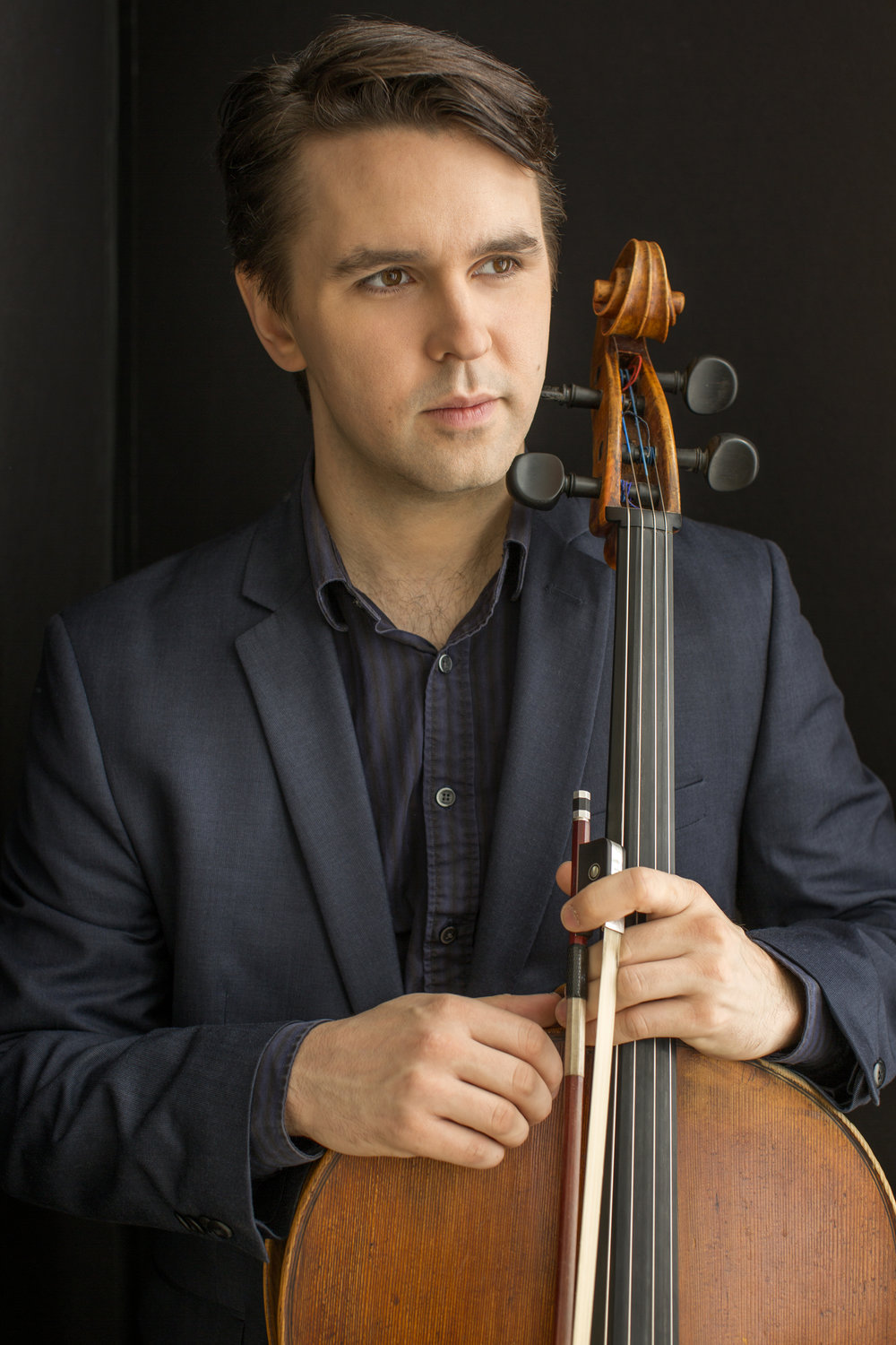 ANDREW JANSS Director of Prison Outreach& Program Development - The New York Times has hailed cellist Andrew Janss for his