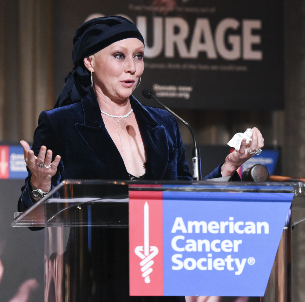 Shannen Doherty Receives American Cancer Society Courage Award