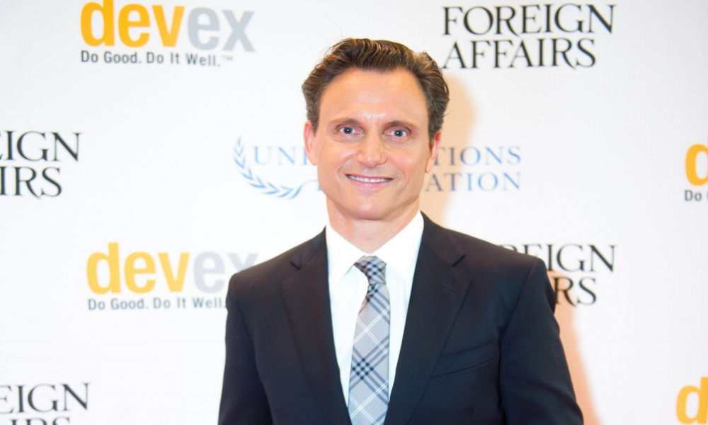 Tony Goldwyn at Global Beat