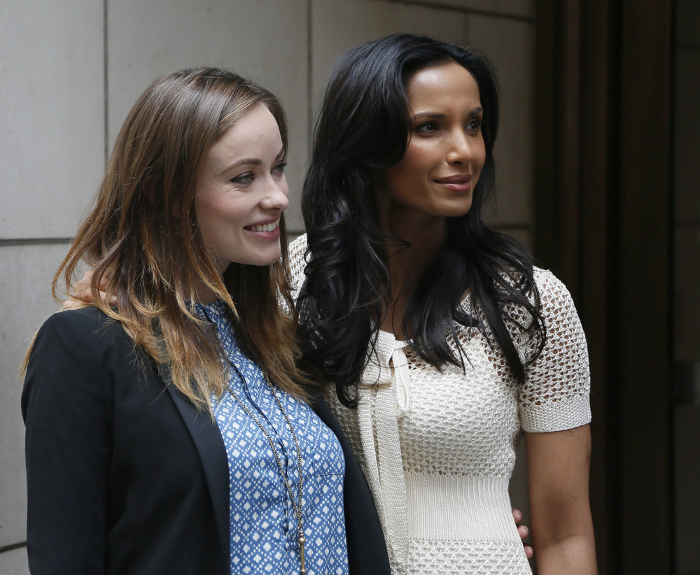 Olivia Wilde & Padma Lakshmi at UN Foundation Moms+Social Good in NYC