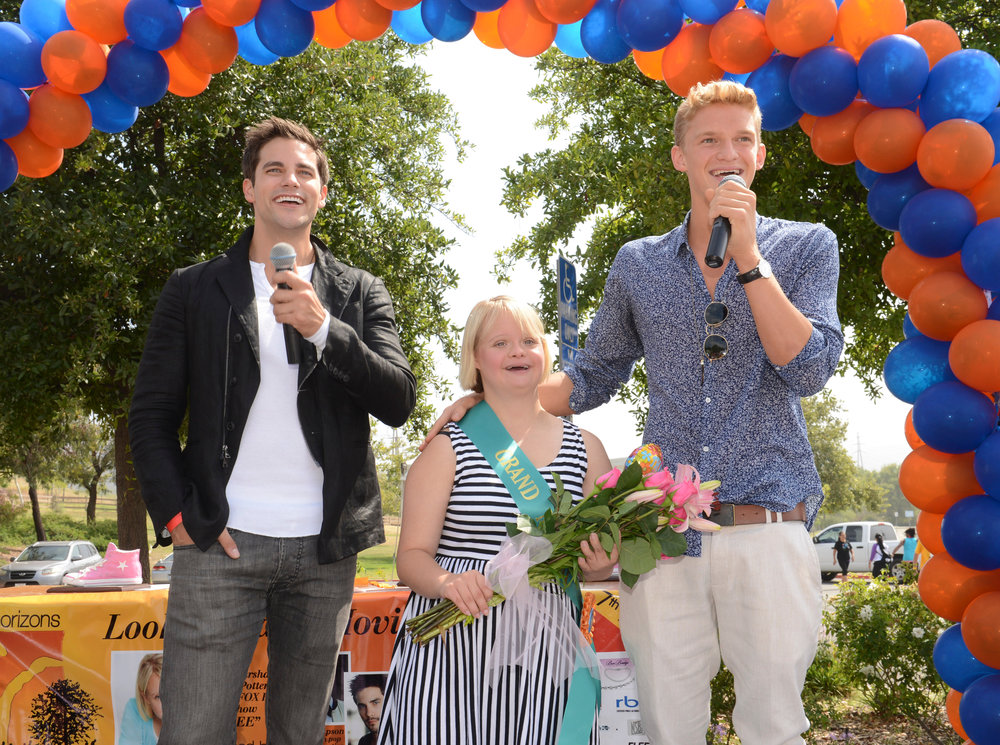 Brant Daugherty, Lauren Potter & Cody Simpson at New Horizons 5K Run/Walk