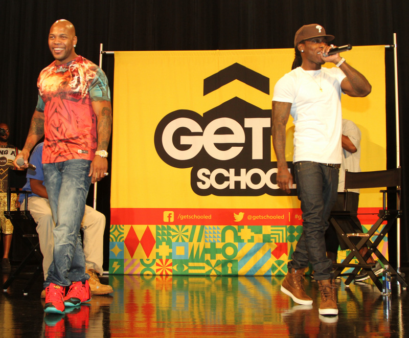 Flo Rida & Ace Hood supporting Get Schooled in Miami