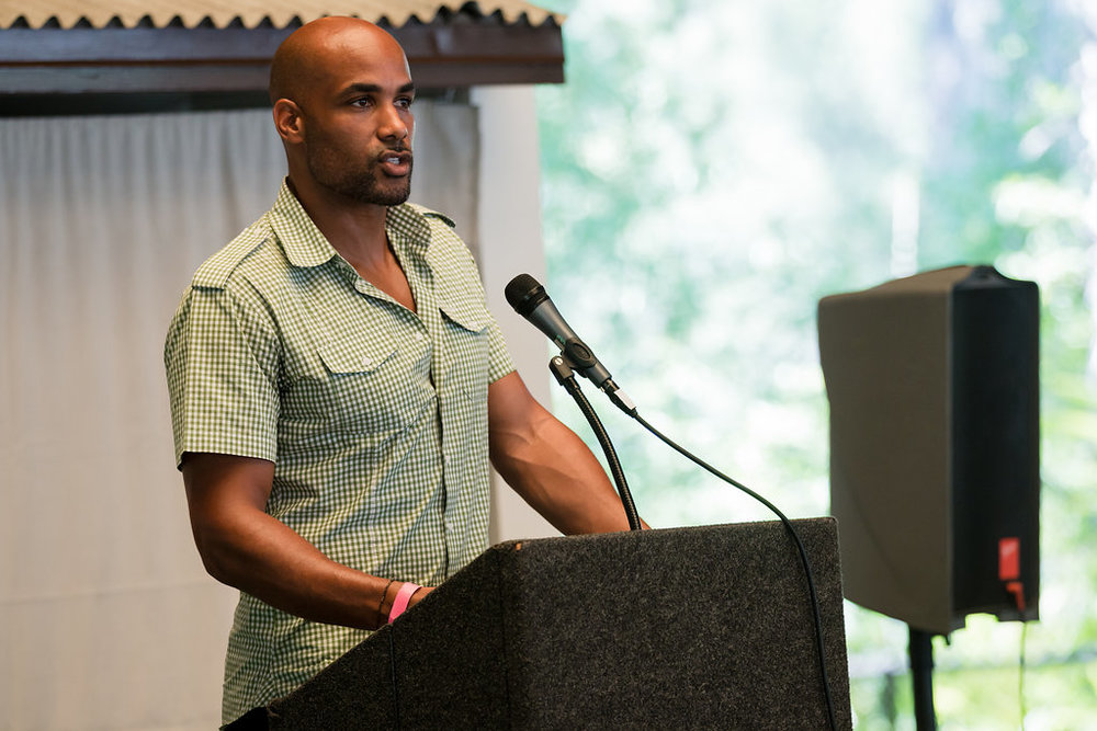 Boris Kodjoe hosts Prevent Child Abuse America event in LA