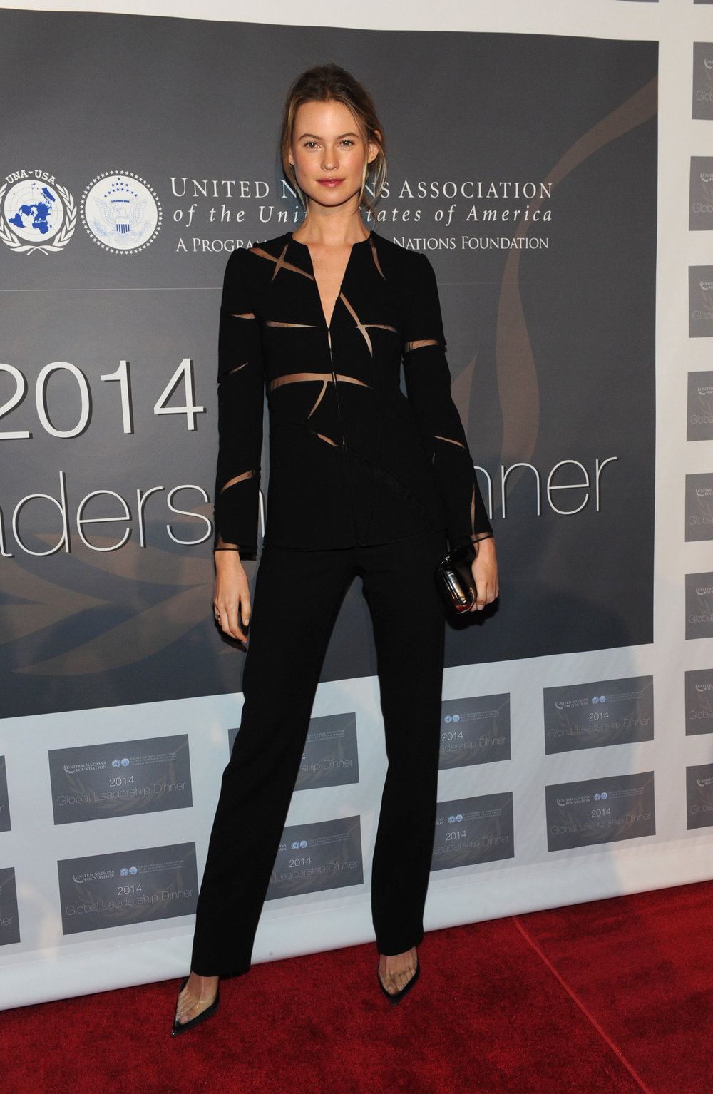 Behati Prinsloo at UN Foundation Global Leadership Awards Dinner