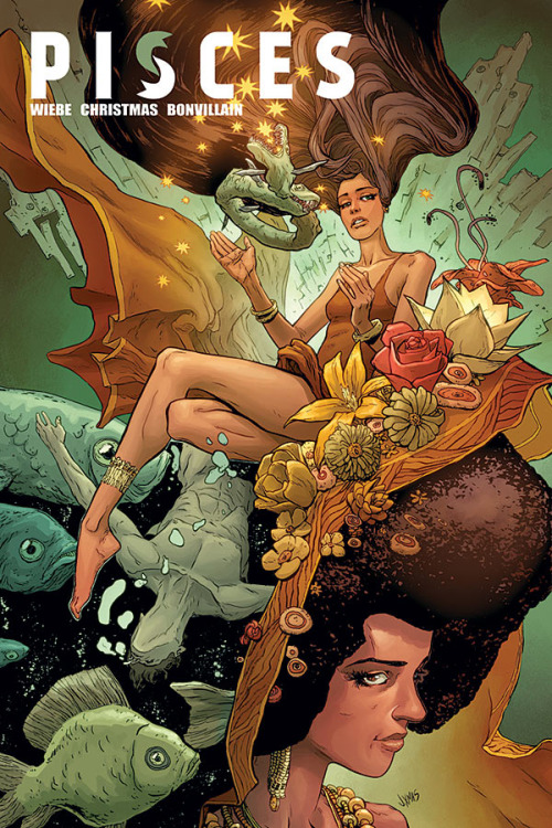 Pisces #3    Jul 8, 2015  by Kurtis Wiebe (Author), Johnnie Christmas  (Illustrator), Tamra Bonvillain (Colorist), Ed Brisson (Letterer)
