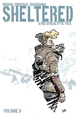 Sheltered Volume 3   Apr 21, 2015  by Ed Brisson  (Co-creator, Author), Johnnie Christmas  (Co-creator, Illustrator), Shari Chankhamma (Colorist), Nate Piekos (Letters)