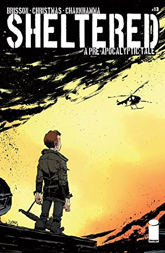 Sheltered #13   Nov 26, 2014   by  Ed Brisson  (Co-creator, Author), Johnnie Christmas  (Co-creator, Illustrator), Shari Chankhamma (Colorist), Nate Piekos (Letters)