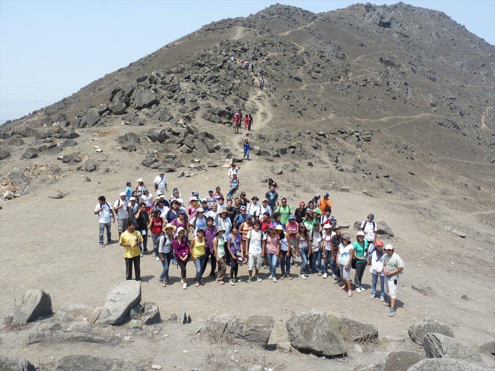 Segunda generación de Proyecto Lomas en las lomas de Mangomarca, Lima-Perú (2012)