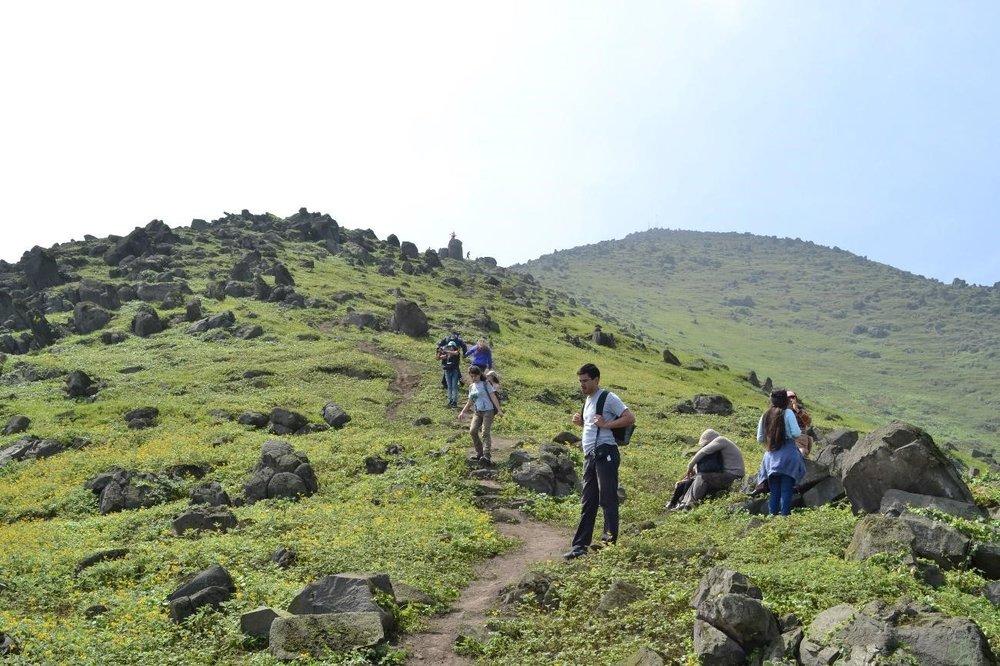 Total disfrute de la naturaleza durante la caminata guiada por las Lomas de Amancaes.