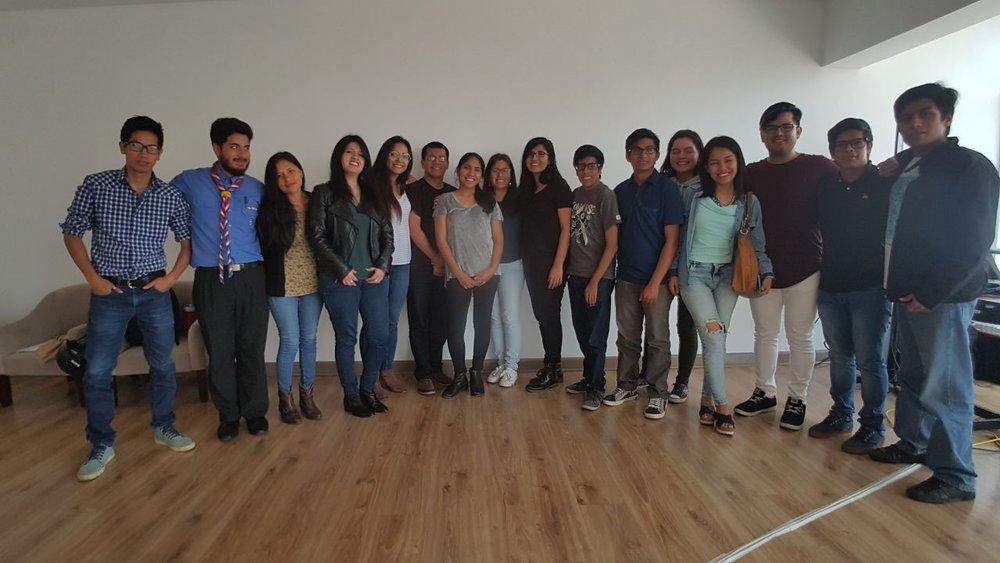 Participantes presenciales y organizadores del I Foro de Incidencia Política Ambiental Juvenil. Muchas gracias a los que nos acompañaron de manera virtual también.