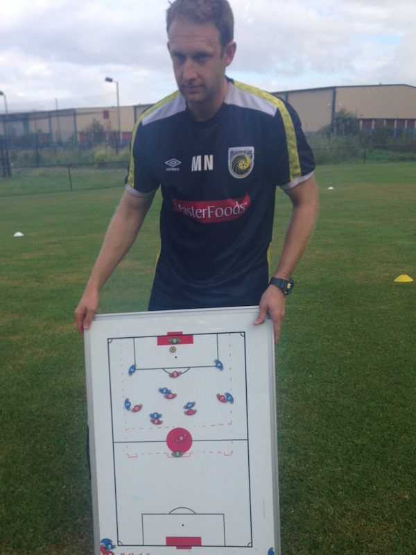 Matt Nash - Mariners GK coach