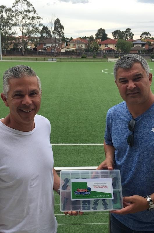 Sydney FC's Steve Corica & Phil Moss