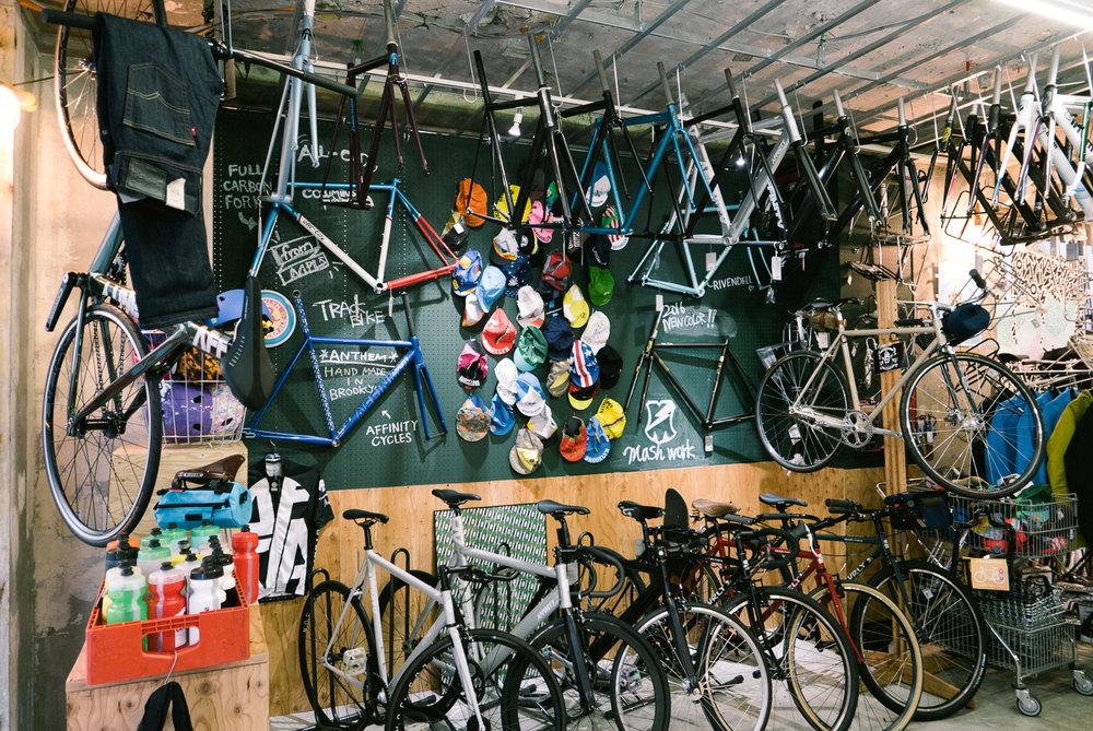 Bike Shop Visit Blue Lug Yoyogi Park Tokyo Mcbc