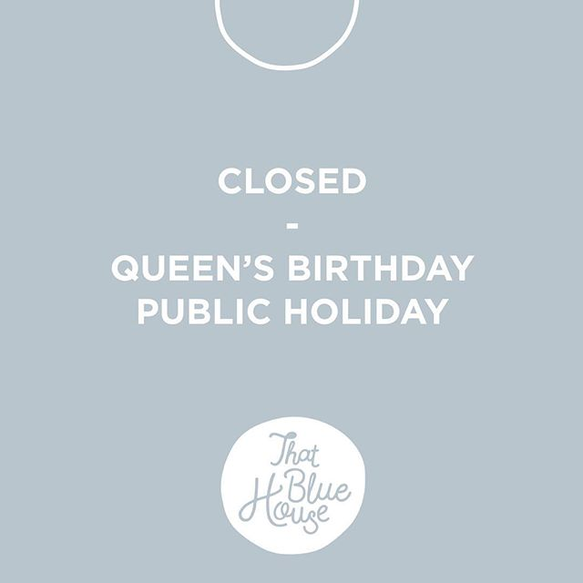 Hi everyone 👋 We will be closed tomorrow ! We hope you all enjoy the public holiday !! 🌞