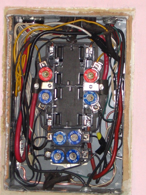 Electrical Fuse panel