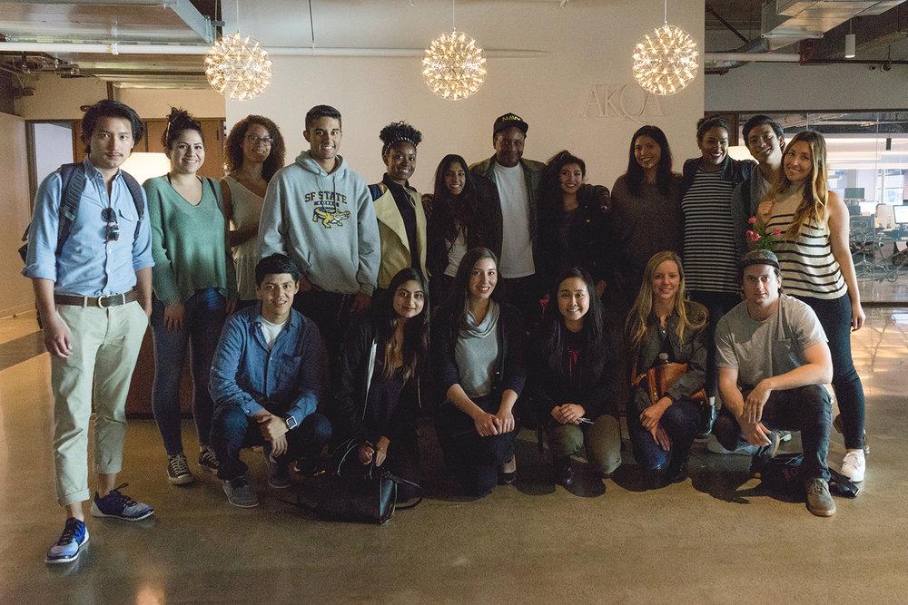 MA members at AKQA SF.