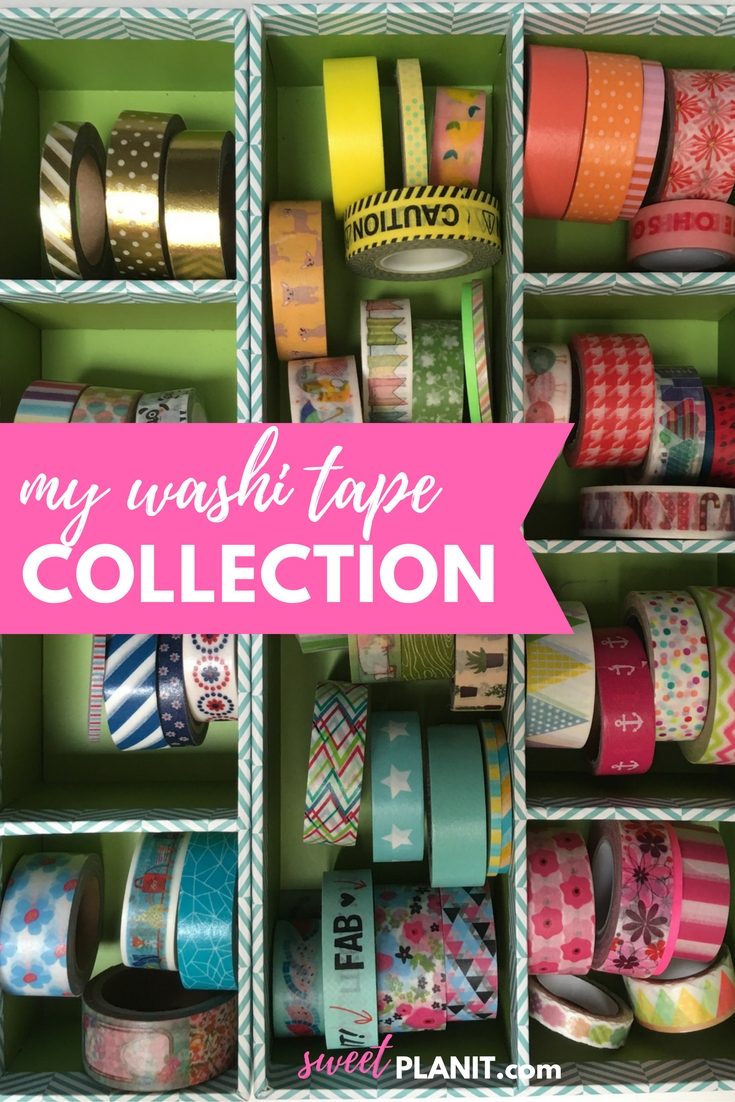 Washi Tape Collection + Links on where to buy!
