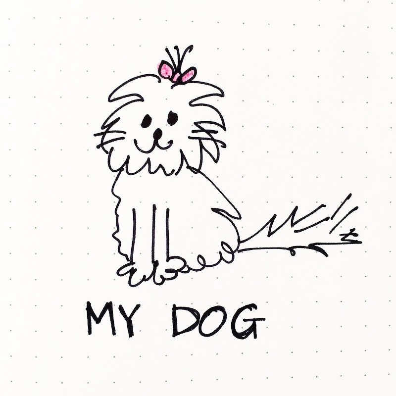 Doodle of the Day: My Dog