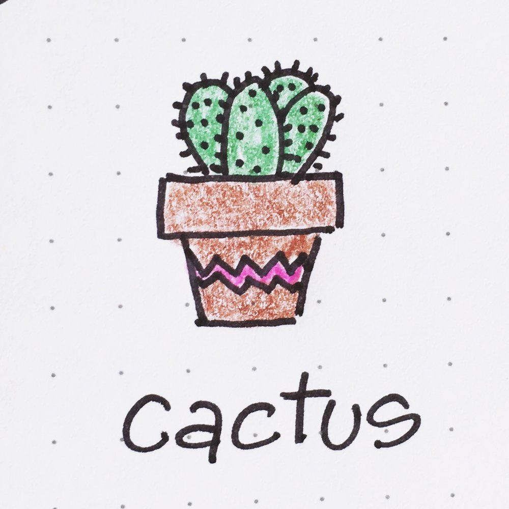 Doodle of the Day: Prickly Cactus