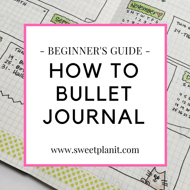 New to Bullet Journaling? Start Here!