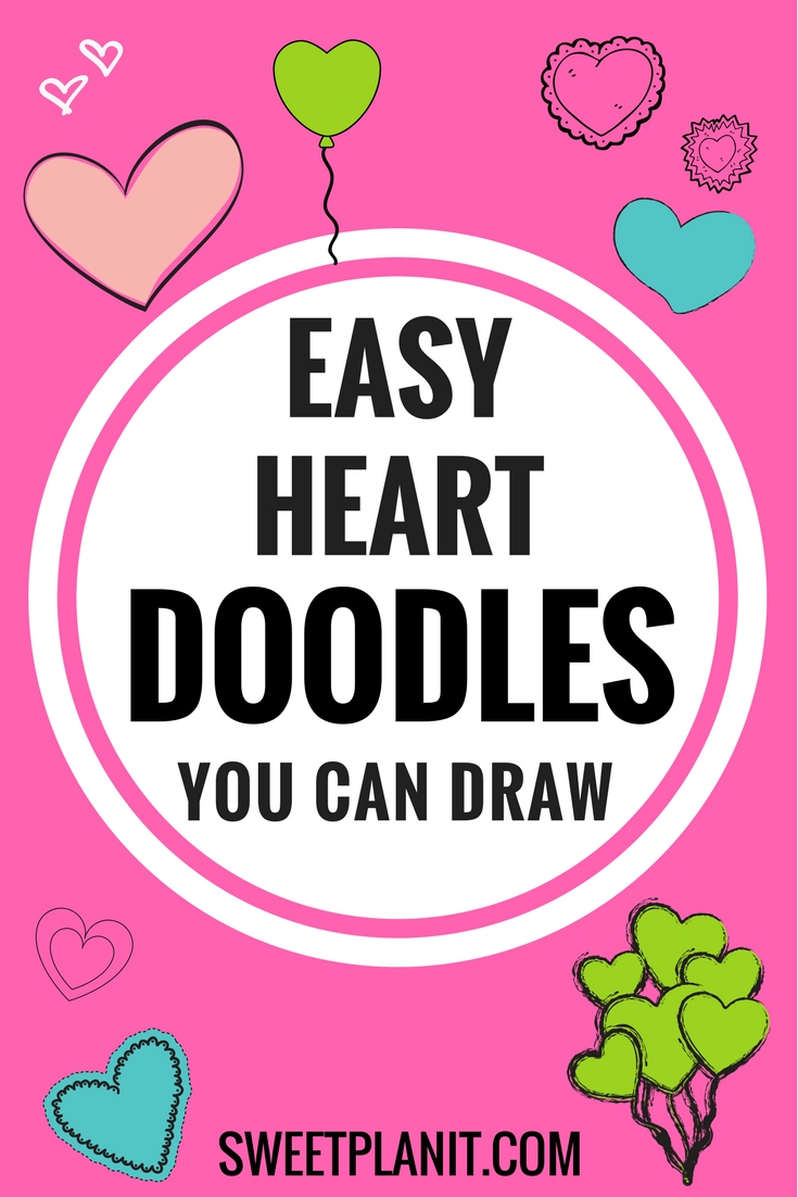 Hundreds of Easy Heart Doodles You Can Draw