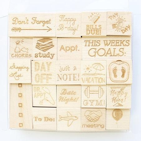 Planner Stamp Set