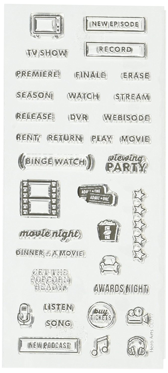 TV and Movie Planner Stamps
