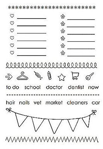 Planner Banner and To-Do List Stamps