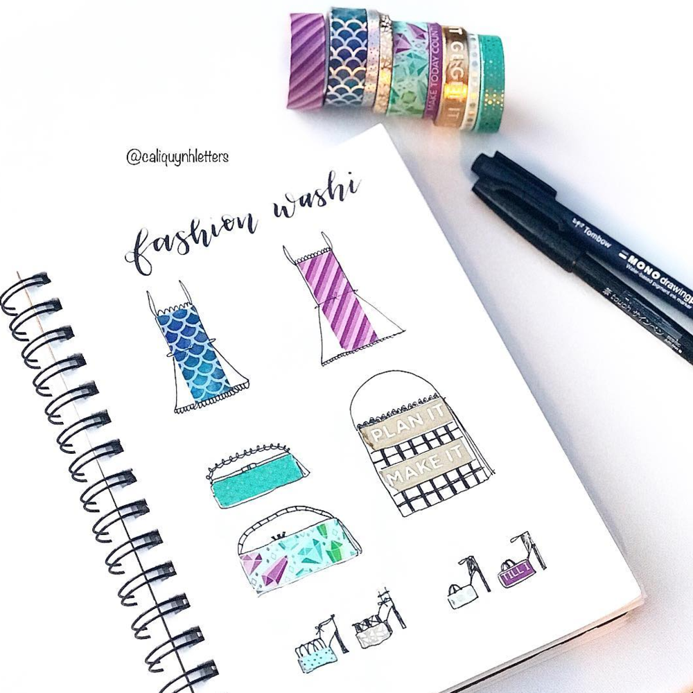 Bujo Washi Tape Catalog
