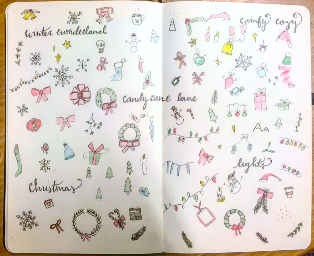 Christmas Doodles for Holiday Spirit