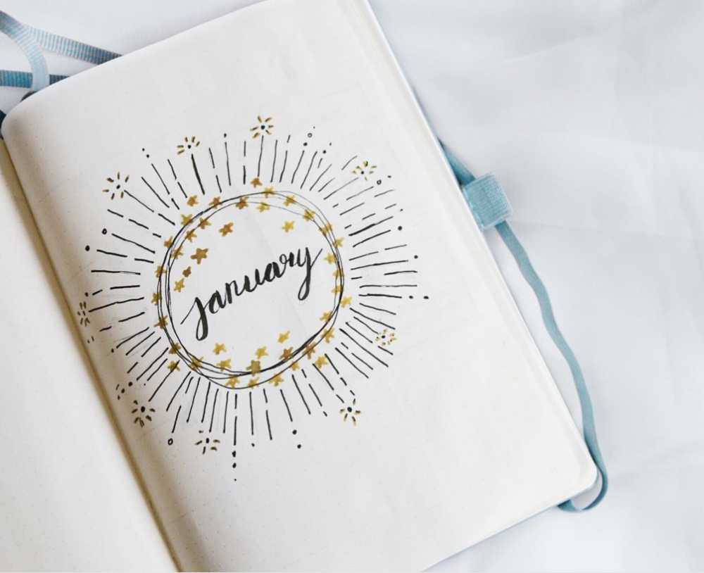 January Cover Page Ideas