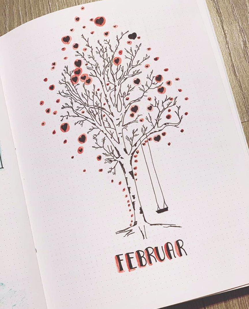 Fabulous February Bujo Ideas