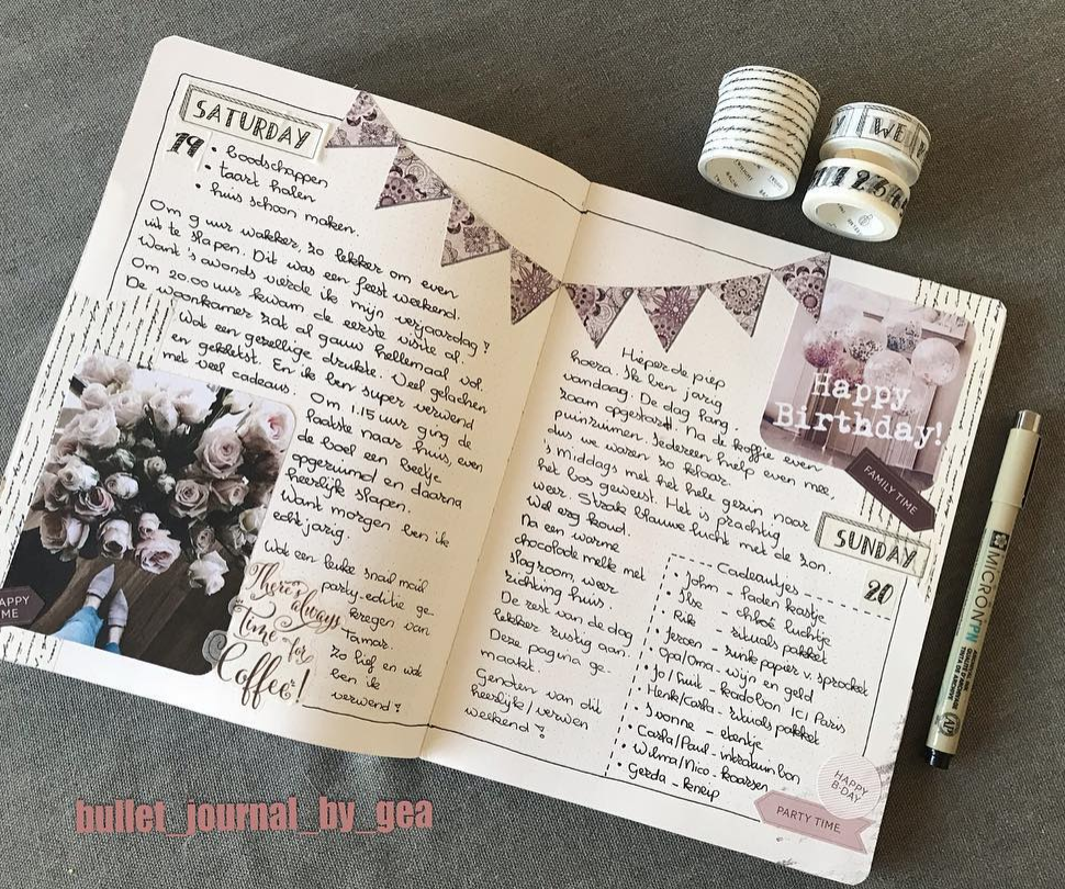 Can a Bullet Journal Be A Diary? Click Here to Find Out!